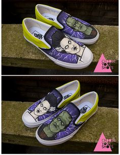Frankenstein shoes by chooseyourshoes, via Flickr