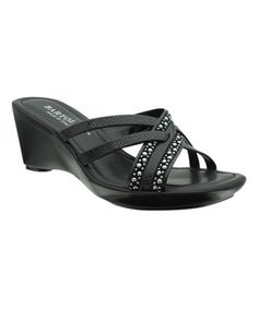 Loving this Black Stud Roma Sandal on #zulily! #zulilyfinds