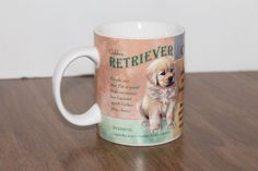 Puppy Personals Golden Retriever Chocolate Lab Loving Labrador Coffee Mug Cup