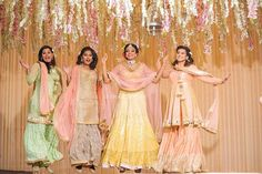 """"""" I got my rock now I need my flock """" We had the perfect bridesmaid shoot in collaboration with Photoshoot Inspiration, Wedding Inspiration, Photoshoot Ideas, Wedding Gowns, Wedding Day, Wedding Outfits, Wedding Bride, Anita Dongre, Wedding Planning Websites"""