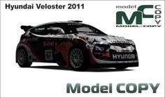 Hyundai Veloster 2011 - 3D Model (3ds, 3dm, dwg, igs, max, obj, stl, ipt, ma)