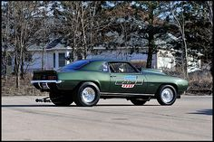 S185 1969 Chevrolet Camaro ZL1 Coupe #65 of 69 Produced, 1 of 3 Built COPO 9737. This is the rarest of the rare Camaros and you've seen it here on  #CLECKLEYMOTORWORKS
