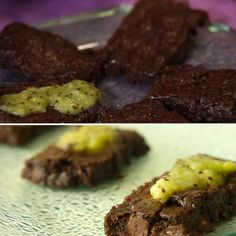 Vegan Brownies With Spinach: I know that brownies made without eggs or butter — but contain spinach — sound pretty unappetizing, but these brownies are actually super sweet, fudgy, and decadent. You cant even taste the greens.