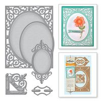 Amazing Paper Grace A2 Filigree Delight Card Creator Etched Dies