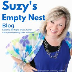 Follow my blog! www.suzyrosenstein.com/empty-nest-blog Guess what? You're not alone! Explore the highs, lows and humor that goes along with growing older and wiser. | emptynestblog | midlife | workingmom | momlife | graduation | college | university | milestones | midlifetransition | mid-life | forties | fifties | followyourdream | blog | blogger | emptynestblog