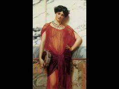 Música de la Grecia antigua & John William Godward