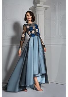 Discover luxury evening and wedding dresses designed to make you, the woman wearing them, feel the most beautiful and most refined. Cocktail Dresses, Dresses With Sleeves, Formal, Long Sleeve, Style, Fashion, Preppy, Swag, Moda