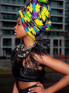 Tropics Magazine l Africa Style #African #HeadWrap #FoulardAfro