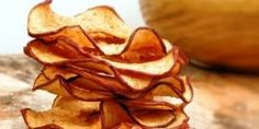 Como fazer chips de maçã