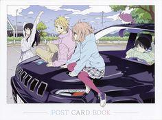 Tags: Scan, Official Art, Kyoto Animation, Kyoukai no Kanata, Kanbara Akihito, Kuriyama Mirai, Nase Mitsuki, Nase Hiroomi