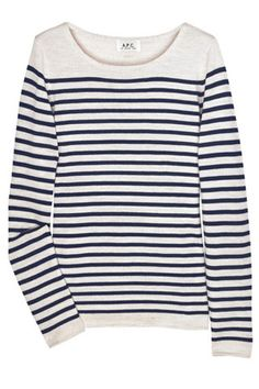 A.P.C. breton sweater. Super soft and in the cutest colours. May 13.