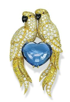 queenbee1924:   A DIAMOND, COLOURED DIAMOND AND SAPPHIRE … | ♥ yellow♥blue