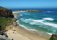 Idyllic beach in Robberg nature reserve in South Africa , Seaside Holidays, Knysna, Holiday Accommodation, Seaside Towns, Beach Town, Nature Reserve, Countries Of The World, Cool Places To Visit, Trip Advisor