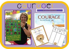 Classroom Management: Teach courage with this fun unit and book!