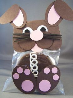 Chocolate Punch Art Bunny