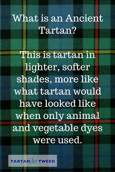 For more helpful info about kilts and Scotland, check out our blog at TartanPlusTweed.com