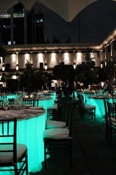 iluminacion de mesa