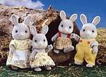 Cottontail Rabbit Family - Calico Critters (remember them?!?)!
