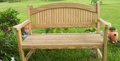 Garden Bench Plan - Woodworking Plans for a Garden Bench