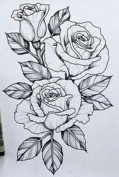 Should add this piece to my skull n rose tattoo .-Sollte dieses Stück zu meinem Schädel n Rose Tattoo hinzufügen … Tatowierung – flower tattoos designs This piece should go with my skull n rose tattoo add tattoo - Tattoo Design Drawings, Flower Tattoo Designs, Art Drawings, Tattoo Flowers, Rose Drawing Tattoo, Rose Drawings, Daisies Tattoo, Tattoo Roses, Flower Tattoo Drawings