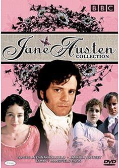 Jane Austen box dvd 12,99€ Pride And Prejudice, So Much Love, Jane Austen, Novels, Passion, Reading, Regency Era, Books, Movie Posters