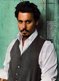 johnny depp - WOW! I  could get lost.................. where evah!!!!