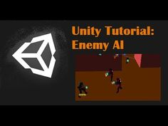Unity Tutorial: Enemy AI (Follow and Shoot) - YouTube