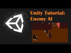 Unity Tutorial: Enemy AI (Follow and Shoot) - YouTube