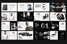 The Hipster Presentation by Rits Studio on @creativemarket