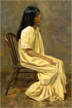 "William Whitaker, ""The Yellow Dress"""