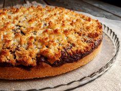 Crostata+nutella+e+cocco