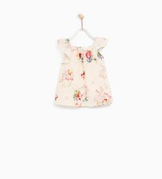 ZARA - KIDS - EMBROIDERED AND PRINTED DRESS