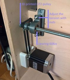 printer design printer projects printer diy Cnc Cnc Build a CNC Router: 9 Steps (with Pictures) you can find similar pins below. Routeur Cnc, Cnc Router Plans, Diy Cnc Router, Woodworking Saws, Diy Lathe, Carpentry, Homemade Cnc, Cnc Plasma Cutter, Hobby Shops Near Me