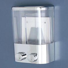 2 pcs 400 ml Wall Mount Push Type Liquid Shampoo Soap Dispenser Shower Gel Container Bathroom. - 2 pcs 400 ml Wall Mount Push Type Liquid Shampoo Soap Dispenser Shower Gel Container Bathroom Home - Shower Soap Dispenser, Shampoo Dispenser, Soap Dispensers, Bathroom Hardware, Bathroom Fixtures, Family Bathroom, Bathroom Wall, Lotion, Kitchen Supplies