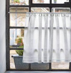 Grid Plaid Pattern Half Window Valances Treatment Room Darkening Rod Pocket Tailored Tier Cafe Curtain Panels 29 W x 36 L Pair, Black /& White Lahome Farmhouse Buffalo Check Tier Curtain
