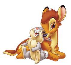 Bambi Disney Pictures and Images Bambi Disney, Manga Disney, Disney E Dreamworks, Disney Amor, Bambi And Thumper, Cute Disney, Disney Cartoons, Disney Movies, Disney Pixar