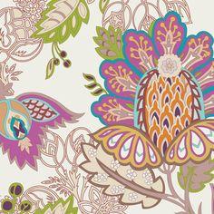 Exotic Flora Rich by Pat Bravo