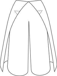 patron pantalon thaï (ou portefeuille) Plus