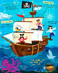 pirate theme?