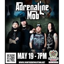 Watch Adrenaline Mob    is a heavy metal supergroup formed by singer Russell Allen Symphony X, guitarist Mike Orlando and drummer Mike Portnoy ex-Dream Theater. The band was formed in early 2011 and performed their first live performance on June 24, 2011 at the Hiro Ballroom in New York City, with the addition of bass player Paul Di Leo Fozzy.    http://theonlytickets.com/ResultsTicket.aspx?evtid=2034113=Adrenaline+Mob