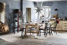 Ambiance Noël 2016 pour la salle à manger avec IKEA  http://www.homelisty.com/ikea-noel-2016/