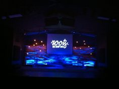 """Roots"" Stage w/ Color"