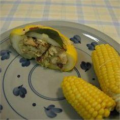 Stuffed Pattypan Squash - Allrecipes.com