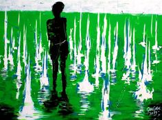 Girl in green light (click on images if you want this one)