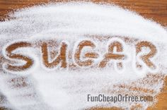 How to use sugar on your lawn as an inexpensive fertilizer! (It's cheap and it WORKS!)   FunCheapOrFree.com