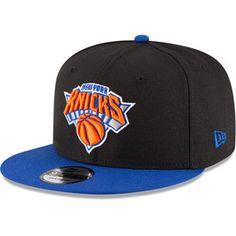 on sale a0bfc 3c2d9 Men s New York Knicks New Era Black Blue 2-Tone 9FIFTY Adjustable Snapback  Hat
