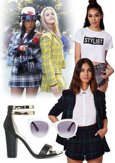Movie Heroine Outfit Inspiration - Cher Horowitz Clueless!