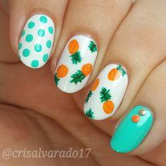 Instagram photo by crisalvarado17 #nail #nails #nailart
