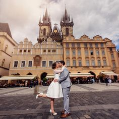 Prague Elopement wedding for two