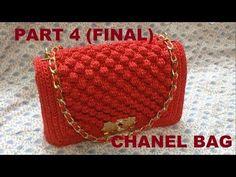 Bolso Chanel.Crochet.